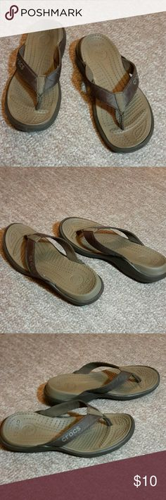 936e0f693 Flip flop by Crocs Flip flop by Crocs size used in good condition CROCS  Shoes Slippers