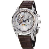 zenith men s 03 2140 691 02 c498 captain moonphase silver zenith chronomaster open grande date moonphase mens watch 032160404701c713 zenith watches men