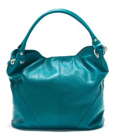 Another great find on #zulily! Roberta M Ottanio Scuro Pebbled Leather Hobo by Roberta M #zulilyfinds