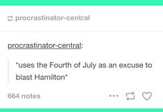 yup. Also screaming EVERYONE GIVE IT UP FOR AMERICAS FAVORITE FIGHTING FRENCHMANNNNN every time a firework makes that squealy noise