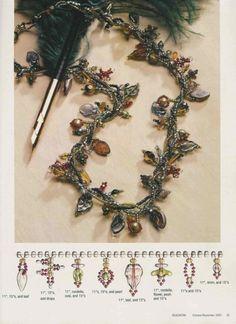 Gallery.ru / Фото #43 - 10-11 2002 - svmur51 Beaded Rings, Beaded Jewelry, Beaded Necklace, Beaded Bracelets, Necklaces, Beading Patterns Free, Beading Tutorials, Turquoise, Bead Art