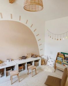Playroom Mural, Toddler Playroom, Playroom Design, Modern Playroom, Kids Room Design, Modern Kids Rooms, Toddler Bedroom Ideas, Montessori Toddler Bedroom, Little Boy Bedroom Ideas