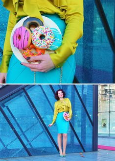 Food-Inspired Handbags That Will Make You Hungry If you're starving for a new statement piece, you might want to fill up on these satisfying handmade purses by Rommy Kuperus. Unique Purses, Handmade Purses, Creative Bag, Novelty Bags, Warm Outfits, Inspirational Gifts, Colorful Fashion, Fashion Bags, Outfits