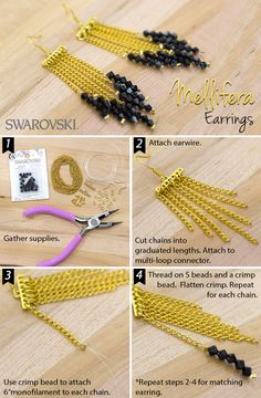 Handmade jewelry is all the rage. Swarovski makes it simple with this how-to!