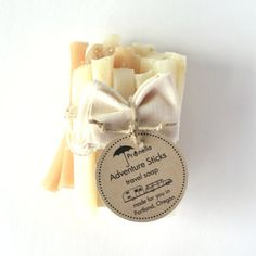 20 Travel Soap Sticks Prunella Adventure Sticks made in Portland, Oregon by prunellasoap