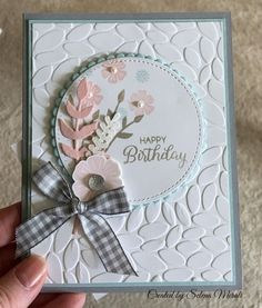 I received some really nice swaps in Salt Lake City last week. I thought I'd share just a few of them with you today! This first one uses the Framelits, Many Mittens. Purchase the Framelit… Birthday Cards For Women, Handmade Birthday Cards, Happy Birthday Cards, Birthday Wishes, Birthday Gifts, Birthday Surprises, Making Greeting Cards, Greeting Cards Handmade, Tarjetas Diy