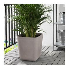 IKEA ÖSTLIG plant pot Decorate your home with plants combined with a plant pot to suit your style.