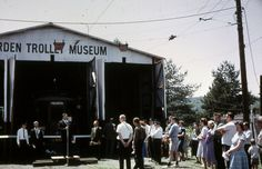 February 7, 1954:  With acquisition of a site in Chartiers Township, Washington County and the wonderful cooperation of the Pittsburgh Railways Company the three-car collection motored to the site on February 7, 1954 to establish what has become the Pennsylvania Trolley Museum.