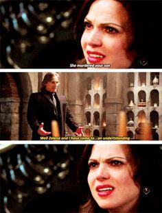 "Regina and Rumple - Season 4 * Episode 17 ""Heart of Gold"""