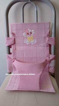 El sentar infantil por las manos en la silla regular adulta — Haz, la idea para la obra - DIY Ideas // Таисия
