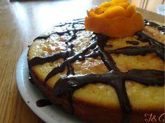 Non pubblichiamo dolci da tempo perciò…Torta bicolore al profumo d'arancia!!!!