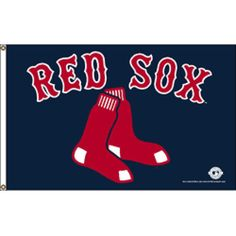 Boston Red Sox MLB 3'x5' Banner Flag