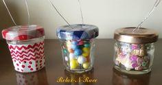 diy jam jar christmas ornament Christmas Jars, Christmas Decorations, Jam Jar, Recycled Art, Easy Diy, Bulb, Christmas Mason Jars, Recycle Art, Bricolage Facile