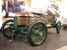 1904 Napier L48.  First British Car to reach 100mph by hoarder123, via Flickr