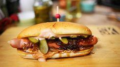 Hotdogok: klasszikus, curry wurst és Seattle dog