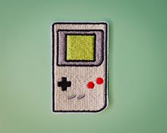 Gameboy -- NES Nintendo Gameboy Patch. $5.00, via Etsy. lol