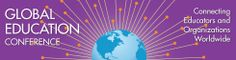 """The Global Education Conference Network I will be """"attending"""" some of the sessions next week."""