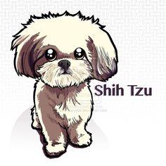 Shih Tzu by b1naryg0d