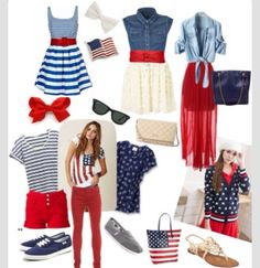 Cute forth of July outfits