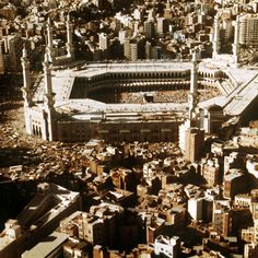 Then-and-Now Photos of Mecca Show What's Happening to Islam's Most Sacred Site