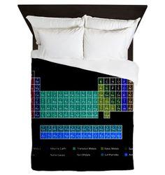 Periodic table duvet2 duvet cover periodic table of elements periodic table of elements queen duvet urtaz Image collections