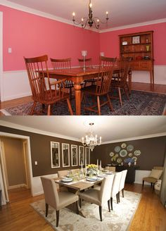 Beautiful room before and after - Sabrina Soto