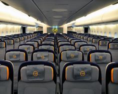airbus a380 interior | brand new lufthansa airbus a380 economy class cabin the airbus a380 ...