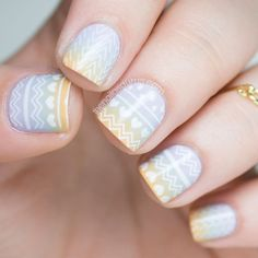 The Nailasaurus | UK Nail Art Blog: MoYou Hipster Stamping Nail Art