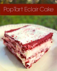 Pop Tart Eclair Cake