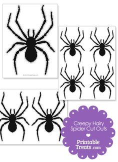 Printable Spider Web Template from PrintableTreats.com | Templates ...