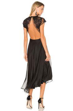 SAU Alyssa Dress in Black   REVOLVE
