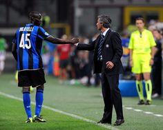 ~ Jose Mourinho and Mario Balotelli on Inter Milan ~