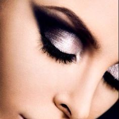 makeup for my future purple and black wedding