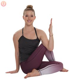 Try this yoga twist for digestion support.