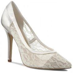 Tűsarkú MENBUR - 06600 Marfil/Ivory 0004 Peeps, Peep Toe, Shoes, Fashion, Ivory, Moda, Zapatos, Shoes Outlet, Fashion Styles