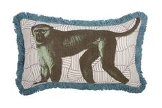 COMING SOON! Monkey Fringe Pillow