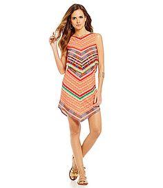 Gianni Bini Bryant Chevron Print Dress #Dillards