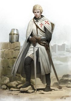 Estevao, Knight of Santiago by wraithdt on DeviantArt