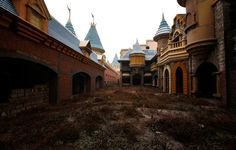 Abandoned wonderland outside Beijing, China.