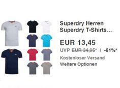 """Ebay: Superdry-T-Shirts für 13,45 Euro frei Haus https://www.discountfan.de/artikel/klamotten_&_schuhe/ebay-superdry-t-shirts-fuer-13-45-euro.php Für einen Tag sind bei Ebay Superdry-T-Shirts für 13,45 Euro frei Haus zu haben – das Textil gibt es in über 20 Modellen und den Größen XS bis XXL. Ebay: Superdry-T-Shirts für 13,45 Euro frei Haus (Bild: Ebay.de) Die Superdry-T-Shirts für 13,45 Euro frei Haus sind als """"Wow! des Tages&... #TShirts"""