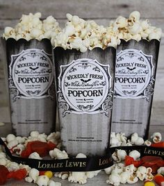 Something Wicked Popcorn Boxes
