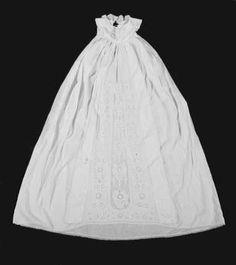 An exquisite Ayrshire work christening robe