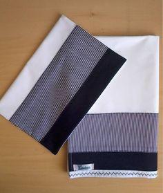 Jogo de lençol padrão americano 03 peças 100% algodão com barrado em tecido e pontos decorativos. Fronha - 40cm x 30cm Lençol superior - 90cm x 140cm (vira 10cm) Lençol inferior (elástico) - 70cm x 10cm x 130cm *As cores podem escolhidas. Consulte disponibilidade. **As medidas podem ser alteradas conforme necessidade. R$ 69,90