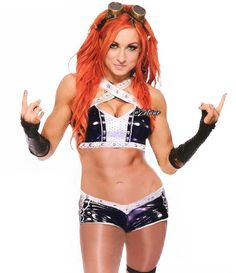 The gorgeous wwe smackdowns  Becky Lynch.