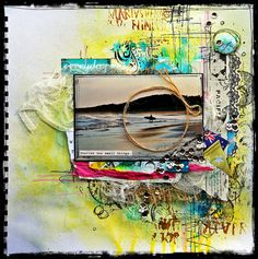 Using Flutterby Flair. By Lisa Oxley http://scrapwitchblogofshadows.blogspot.com/
