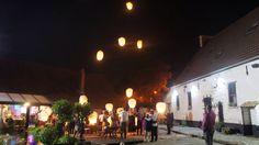 Lâcher de lanternes à la Cense de Lalouette