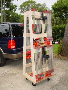 Clamp till / storage rack, I'm looking for ideas. - by Emma Walker @ LumberJocks.com ~ woodworking community