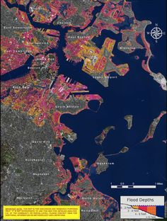 These Scary Maps Explain What Sea Level Rise Will Mean in Boston - Neighborhoods - The Atlantic Cities