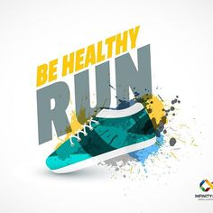 Run & be healthy. #graphics #graphicdesigner #g #logo #logodesigner #logos #brand #logic #infographic #in #i #photoshooting #pho #photographer #fantasy #fashion #j #graphicdesign #illustrator #w #in #indesign #shape #drawing #art #abstract