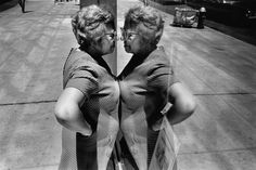 From photographer Sabine Weiss. Who hasn't met a version of this woman?